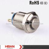 Hbgq12h-10e hoher Kopf Ring-Belichtete wasserdichte Drucktaste