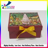 2017 exquisita hecha a mano con cinta de papel de decoración regalo Mini Box