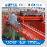 кран балочного моста 30ton 50ton установленный рельсом двойной