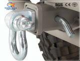 Receptor de acero del tirón de Mounth del grillo de la serie de la remolque de la capa del polvo