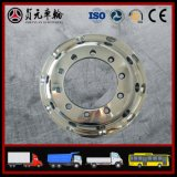 Выкованные оправы колеса тележки алюминиевого сплава для шины, трейлера (22.5X11.75)