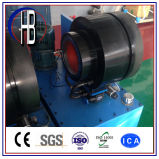 Máquina de friso Techmaflex do Ce da potência do Finn da mangueira automática do ISO