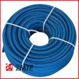 Bleu lisser le boyau à haute pression de rondelle de couverture