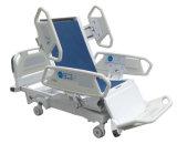 Cama de hospital eléctrica de la Cinco-Función con el CPR