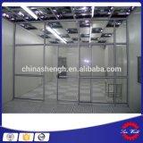 Laborkategorie 100 Belüftung-Vorhang Cleanbooth, weiche Wand-sauberer Raum mit laminarer Strömung