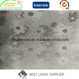 極度の柔らかい55%Polyester 45%Viscoseのジャカードライニング