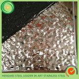 316 201 hojas de acero inoxidables de sellado del SGS 304 graban para la decoración Pannle de la pared