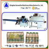 Machine à emballer simple de rétrécissement de bouteilles de rangée
