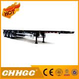 3 Luz-Tipo reboque do aço de alta elasticidade do eixo 40t do esqueleto