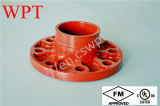 Pn16 Class150 Grooved Adaptor Flange mit FM UL