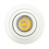 Indicatore luminoso messo inclinazione rotonda dell'alluminio GU10 MR16 LED Ceillign del tornio (LT2302B)