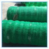 Engranzamento da sustentação plástica para a planta