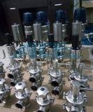 Válvula de mariposa sanitaria con mango de acero inoxidable de múltiples posiciones (ACE-DF-3A)