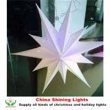2016 la nuova stella di disegno LED illumina la decorazione di festival di festa di natale