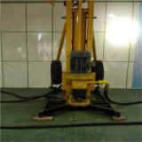 DTH móvil neumático portátil de perforación de la roca del aparejo, Torre de perforación del pozo de agua de perforación rotatoria