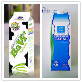 1000ml de 3 capas de leche pasteurizada Gable Top Carton