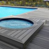 Telhas superiores do Decking de WPC, Decking composto plástico de madeira comum para Europa