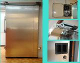 Applicazione congelata stanza fredda di conservazione frigorifera dell'alimento che fa scorrere portello automatico