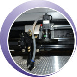 100W 가죽 이산화탄소 Laser 절단 조각 기계