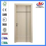 Portes en bois intérieures de placage de construction de salle de bains (JHK-FC03)