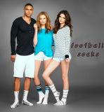 Stampare il vostro proprio prezzo di fabbrica dei calzini di gioco del calcio di marchio