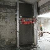 Elektrische Wand, die Maschine vergipst