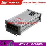bloc d'alimentation de 24V10A DEL/lampe/bande flexible IP65 antipluie