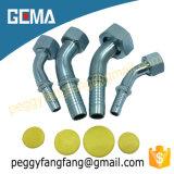 Montaggio idraulico metrico 20441 della Cina del montaggio di gomito di Dkol Dkos di fabbricazione di tubo flessibile dei montaggi della sbavatura metrica idraulica femminile metrica del tubo flessibile