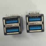 USB 3.0 стога синь DIP 90 градусов