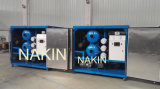 Planta da desidratação do petróleo do vácuo, purificação de petróleo do transformador/máquina da filtragem