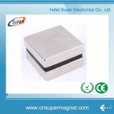 De krachtige N52 Super Magneet van het Blok van het Neodymium van het Nikkel Vierkante