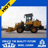 chargeur de frontal de mini chargeur de roue de capacité de position de 1.2ton 0.5cbm petit Zl18