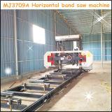 Scierie en bois horizontale de bande de Mj3709A