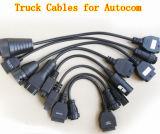 Диагностика тележки привязывает переходнику кабелей OBD2 тележки Tcs полного комплекта Cdp+ Multidiag