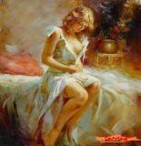 Peinture à l'huile d'impressionisme (03)