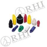Belüftung-Rohrende bedeckt Plastikrohr-Schutzkappen-Gummirohrende-Schutzkappen mit einer Kappe