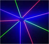 Лазерный луч спайдера 9 головной RGB для клуба этапа диско