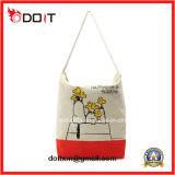 Мешок холстины покупкы Tote хлопка изготовленный на заказ подарка промотирования многоразовый