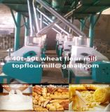 鋼鉄Structure Flour Milling Machine (50t)