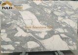 Lastra di marmo bianca di marmo dell'Italia Calacatta