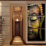 Het Schilderen van de Kunst van het Portret van Boedha van het canvas Kunst Afgedrukt Canvas mc-020 van het Beeld van de Affiche van het Af:drukken van het Decor van de Zaal van het Af:drukken van het Canvas