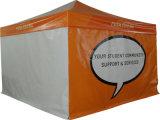 Faltendes Zelt mit gelbem Farben-Aluminium-Rahmen