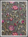 Шнурка Embroideried способа шнурок цепного цветастый флористический