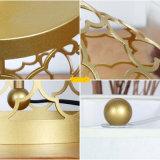 Metallo d'ottone semplice europeo che intaglia la lampada antica del tavolino da notte dell'hotel