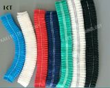 Wegwerfvliesstoff-Doppelt-elastische staubdichte medizinische Pöbel-Schutzkappe Kxt-Nwc03