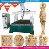 [3د] نسخة [كنك] دوّارة خشبيّة [كرفر] عمليّة قطع [إنغرفينغ] مسحاج تخديد آلة