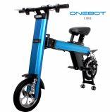 """Onebot 12 """" 2-wiel de Modieuze Draagbare Mini Elektrische Autoped van de Stad met de Dubbele AchterRemmen van de Schijf"""