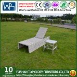 Chaiseのラウンジの屋外の家具(TG-6008)のための新しいデザイン藤