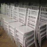 Apilando la silla de aluminio de Chiavari Tiffany de la boda del restaurante del hotel de la resina del metal (BH-L8815C)