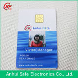 Cartão direto do PVC da microplaqueta da impressão Sle4428